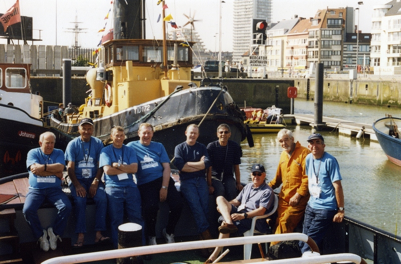 Crew of 2004 at Ostend